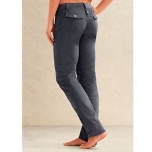Athleta Skinny Dipper Stretch Grey Corduroy Pants